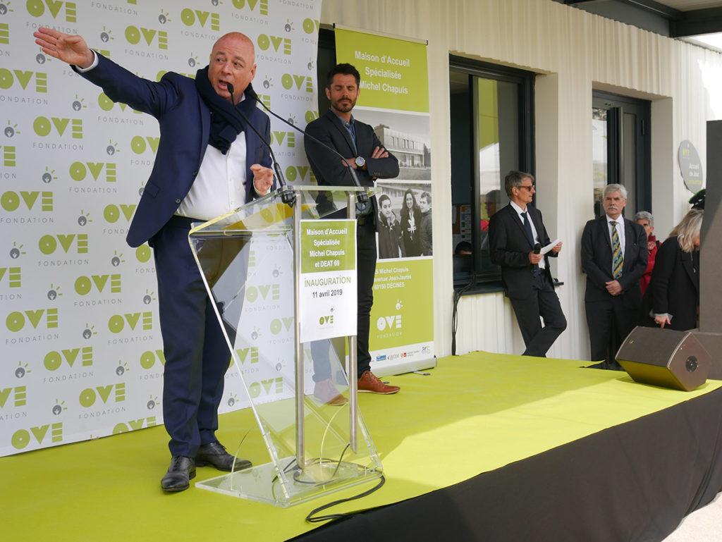 Inauguration de la MAS Michel Chapuis – Fondation OVE